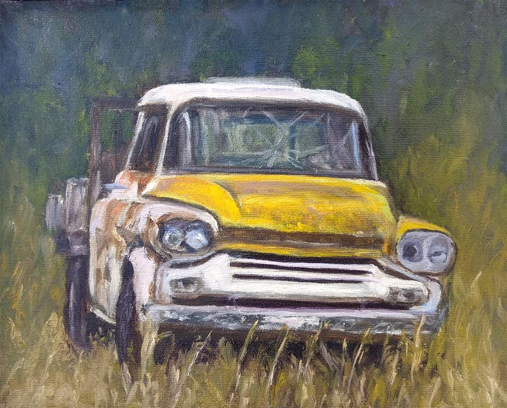 """Seen Better Days"" original fine art by Candi Hogan"