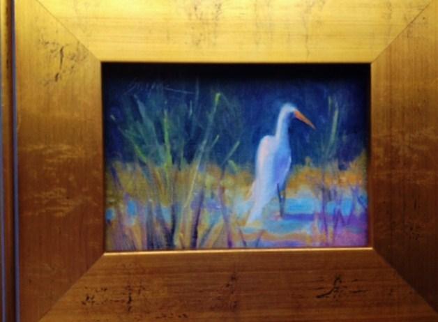 """""""Daywatcher, Edisto Island"""" original fine art by Connie Snipes"""