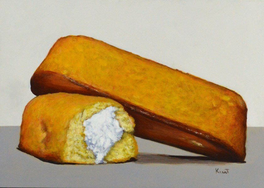 """Twinkies Snack Cakes"" original fine art by Kim Testone"