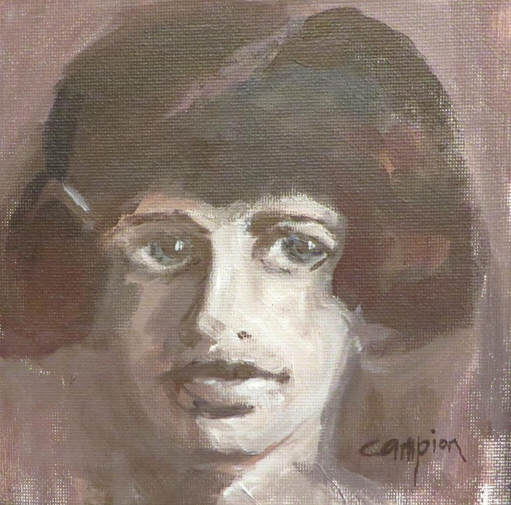 """746 The Eldest Daughter"" original fine art by Diane Campion"
