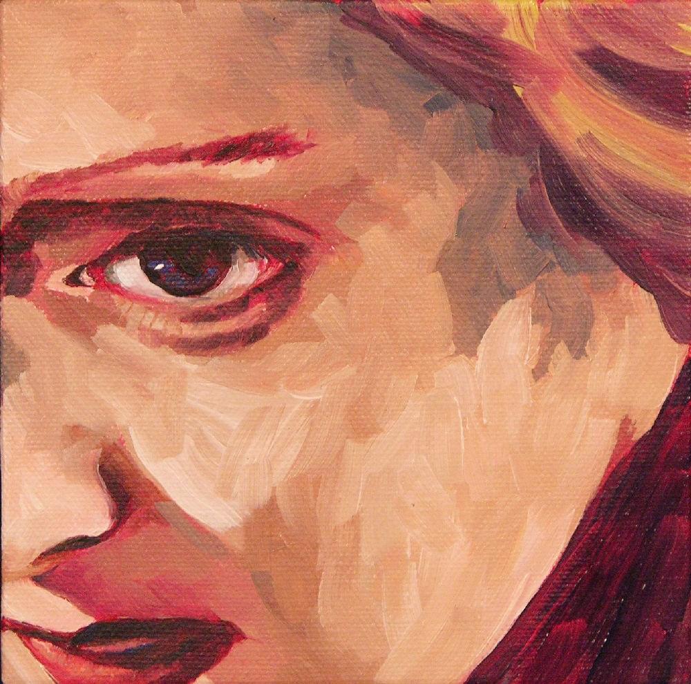 """Bette"" original fine art by Mary McInnis"