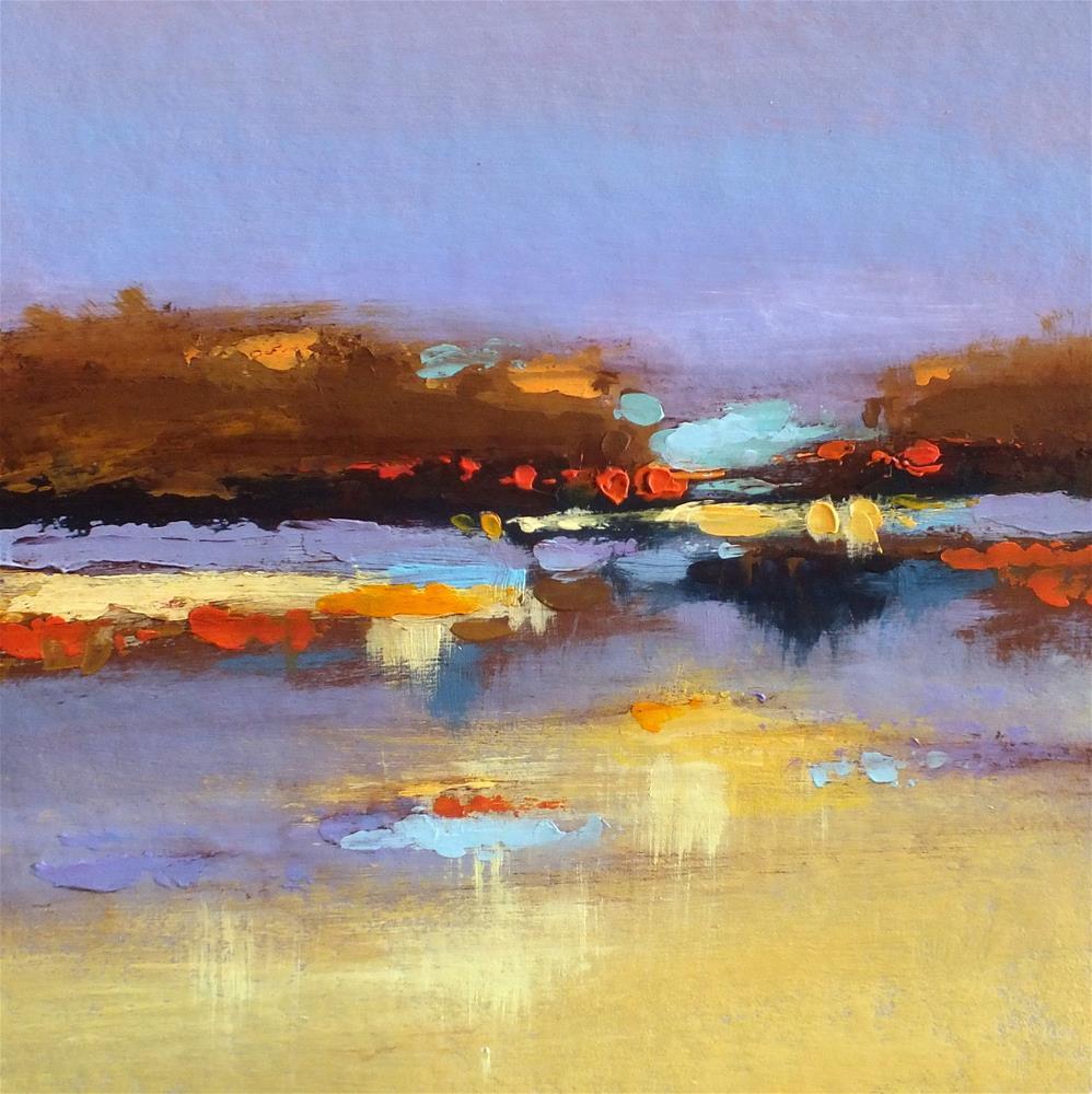 """Landscape 277"" original fine art by Ewa Kunicka"