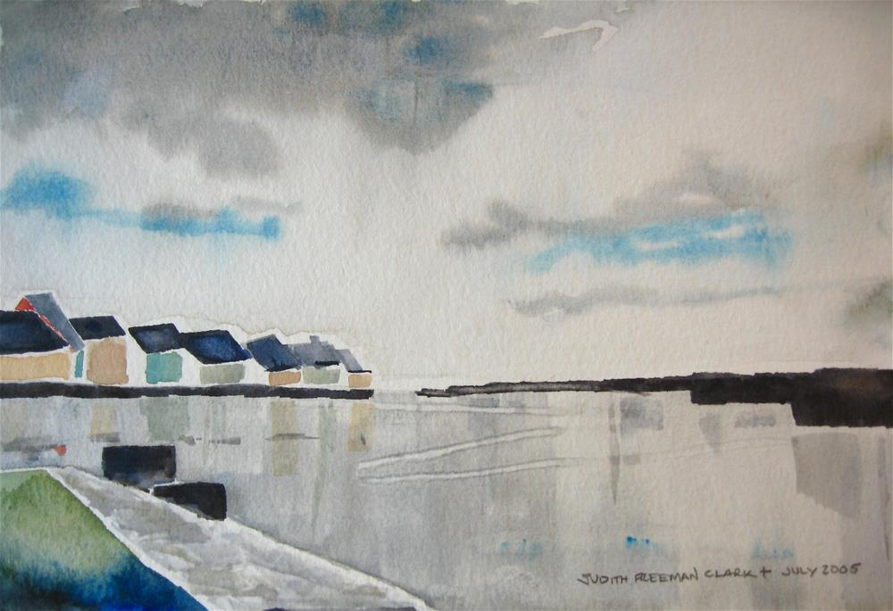 """Vacation on Orkney"" original fine art by Judith Freeman Clark"