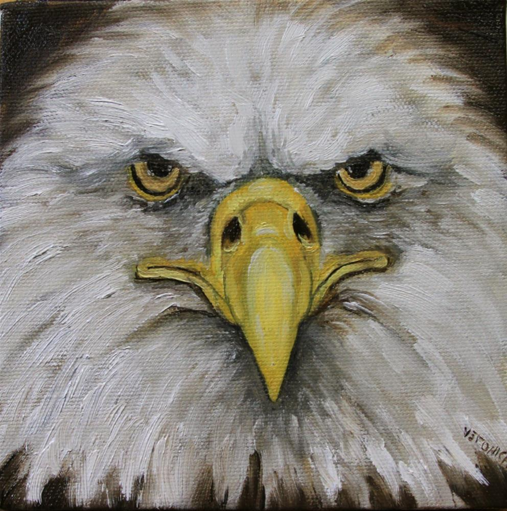 """Eagle"" original fine art by Veronica Brown"