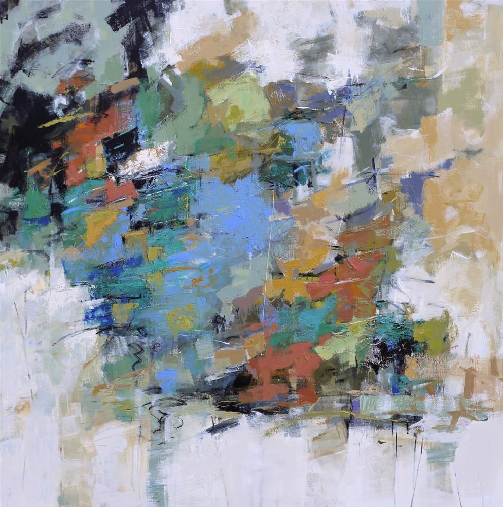 """""""Splendid"""" original fine art by Elizabeth Chapman"""