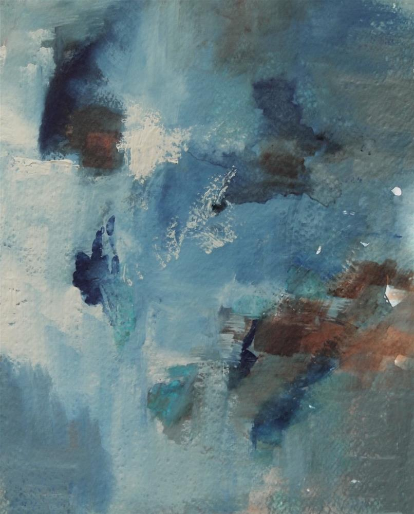 """Blue Dreams"" original fine art by Amy Bryce"