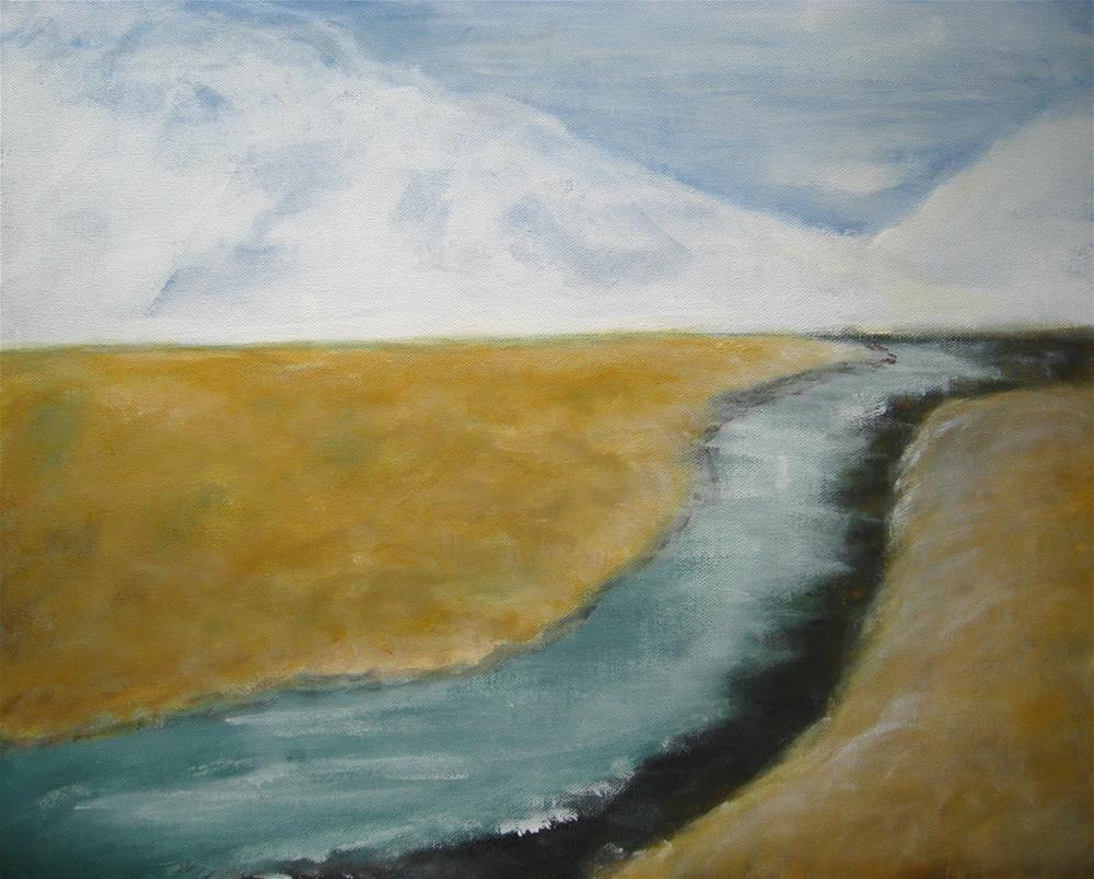 """Following You"" original fine art by Alina Frent"