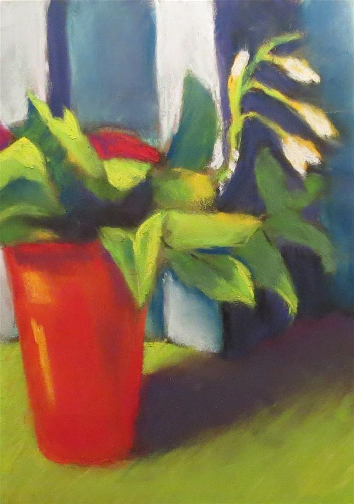 """""""Where Have All the Flowers Gone?"""" original fine art by Judy Albright"""