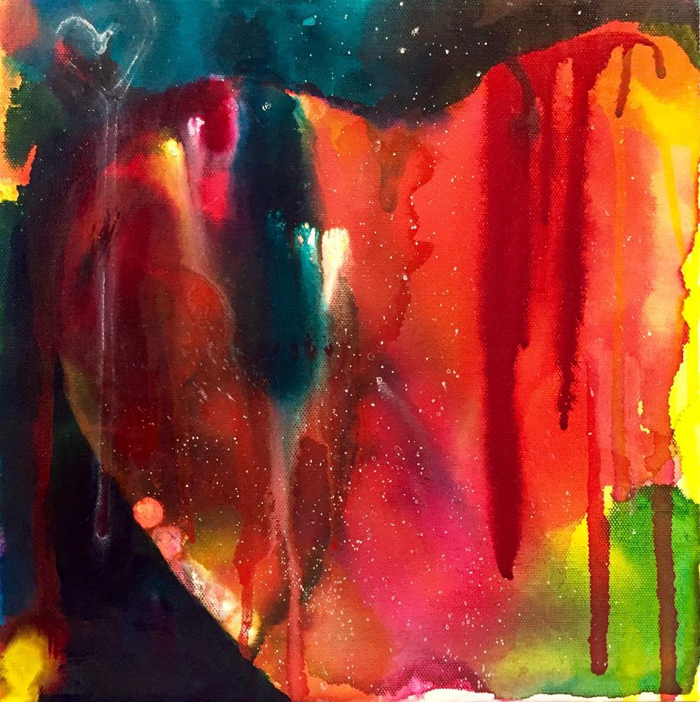 """""""#43 Be Still My Heart"""" original fine art by Silke Powers"""