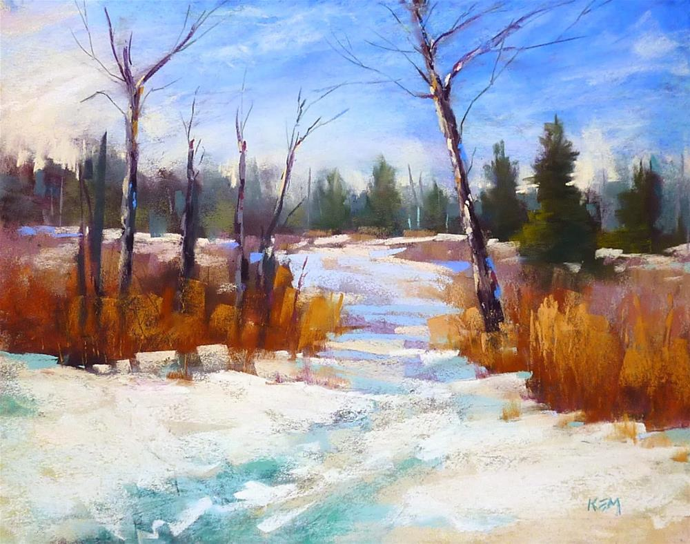 """Two Options for Correcting a Pastel Painting"" original fine art by Karen Margulis"