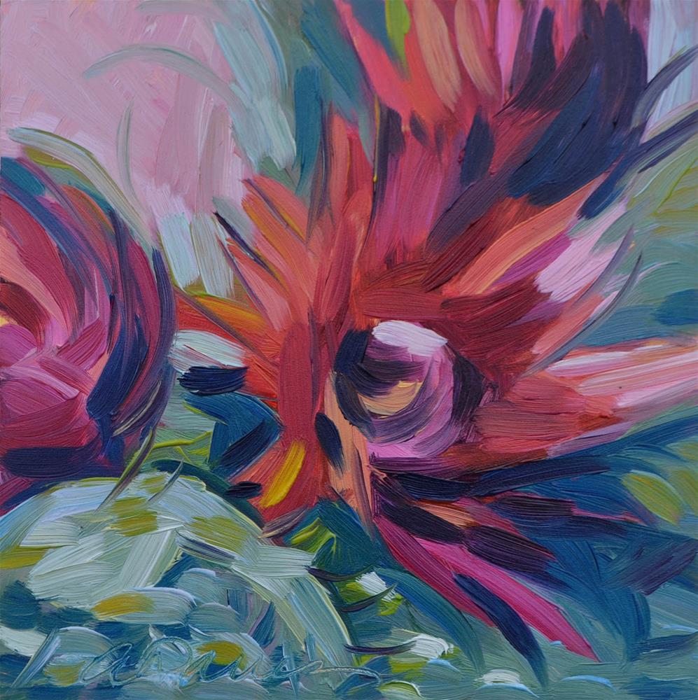 """Whimsy"" original fine art by April Dawes"