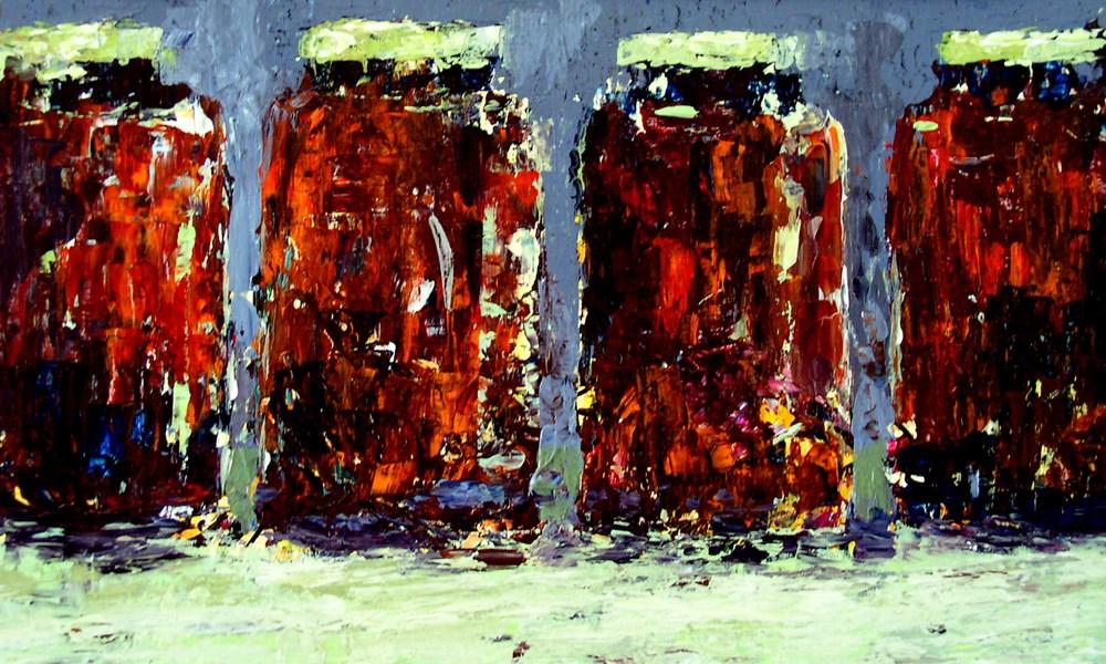 """Tomato Sauce"" original fine art by Anna Vreman"