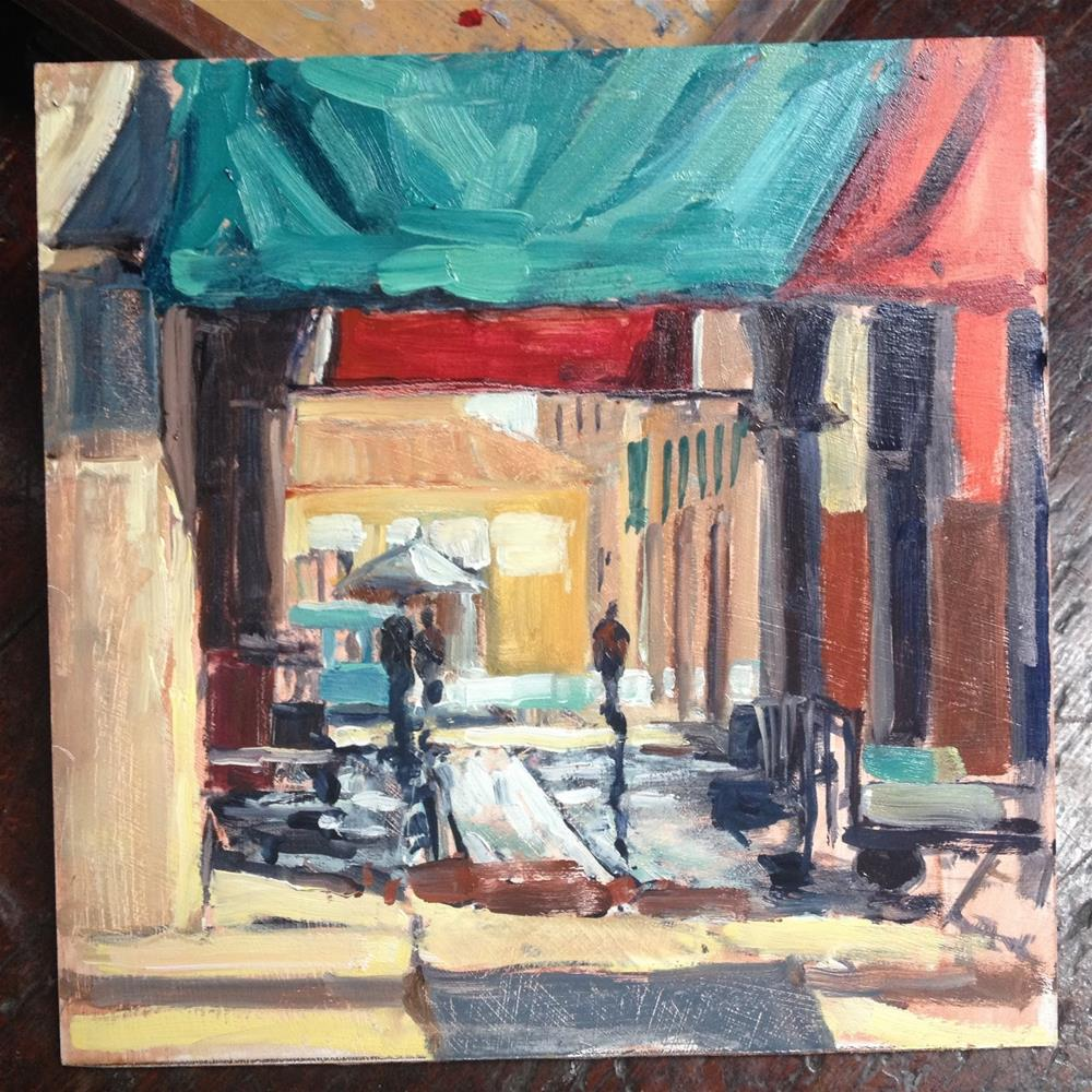 """Venice"" original fine art by Mo Teeuw"