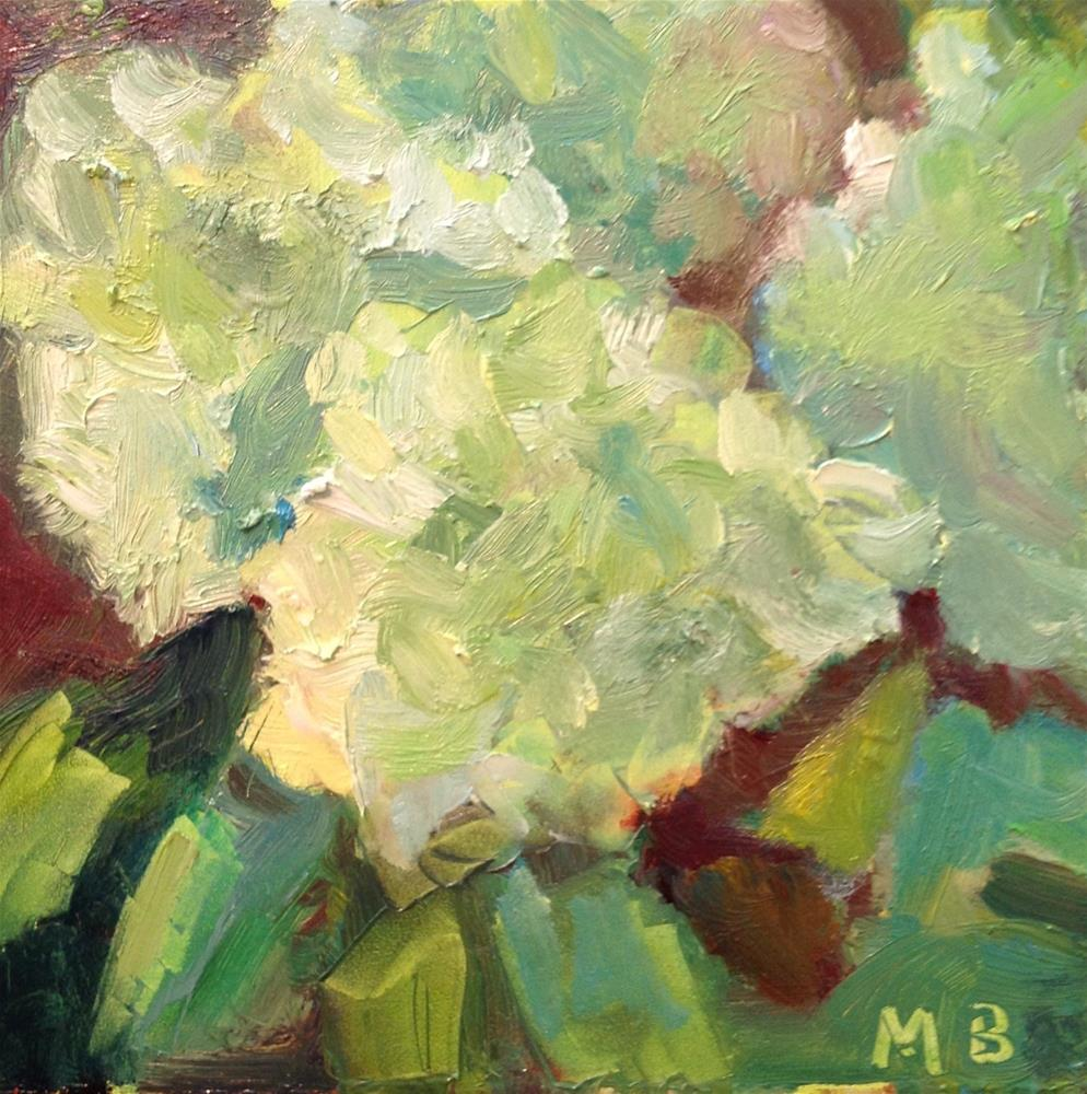 """Limelight"" original fine art by Marcia Bergtholdt"