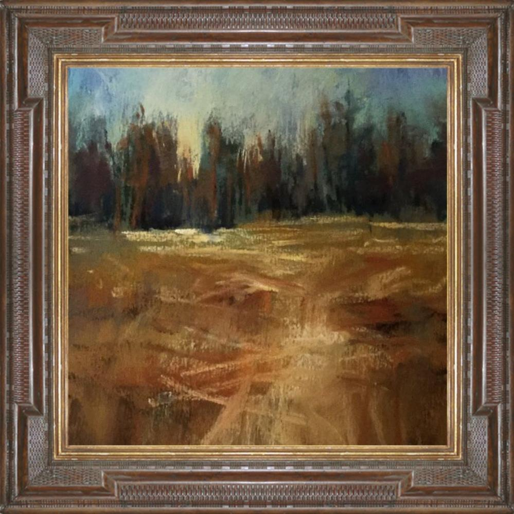 """Fall in Montana"" original fine art by Leora LaGraffe"