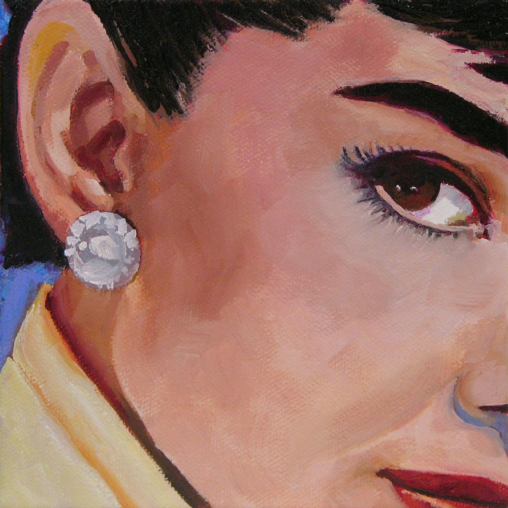 """Audrey"" original fine art by Mary McInnis"