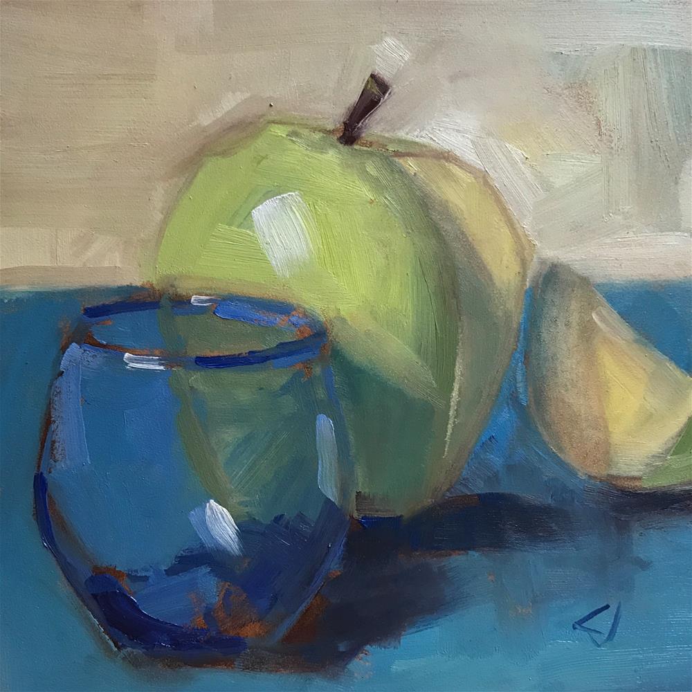"""47 Irish Sea"" original fine art by Carol Johansen"