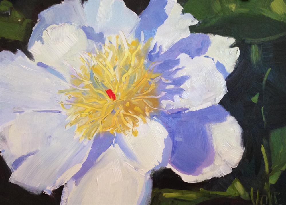 """#96 Summer Shadows"" original fine art by Patty Voje"
