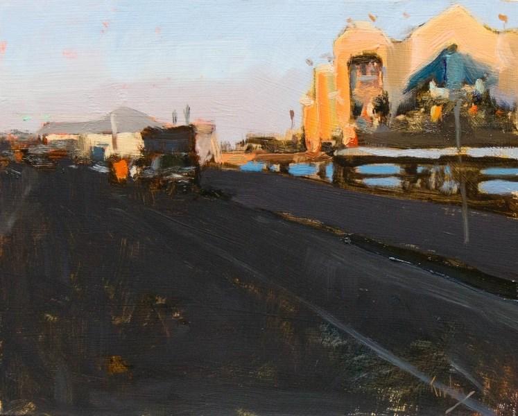 """Sea Wall Blvd"" original fine art by Randall Cogburn"