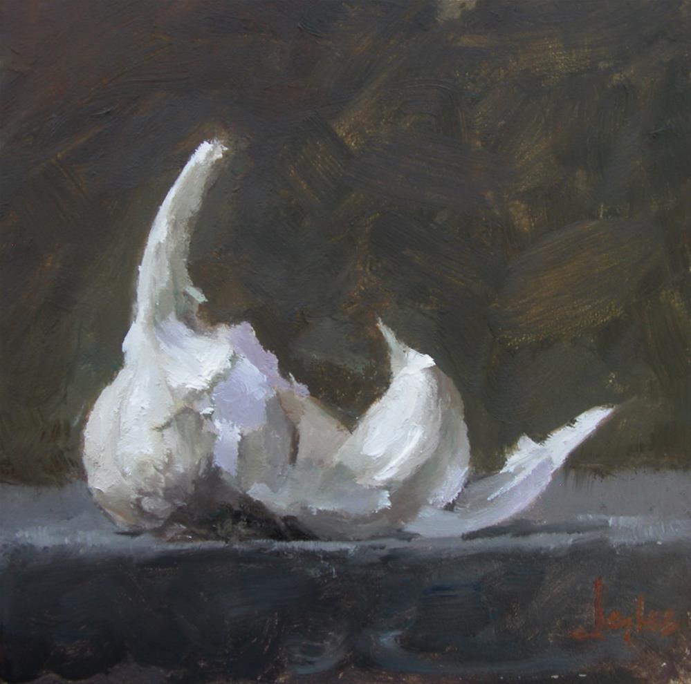 """Garlic II"" original fine art by Richard Jones"