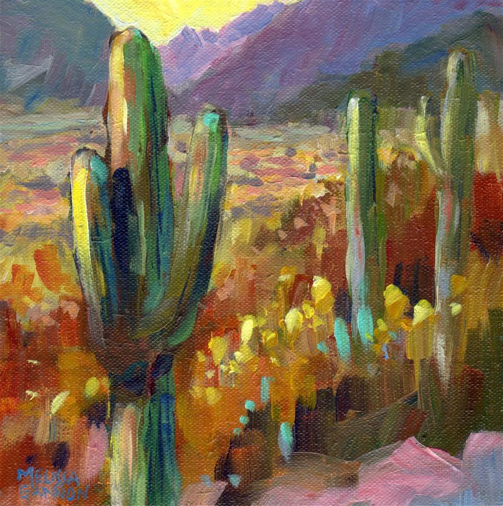 """Guardians of the Desert"" original fine art by Melissa Gannon"