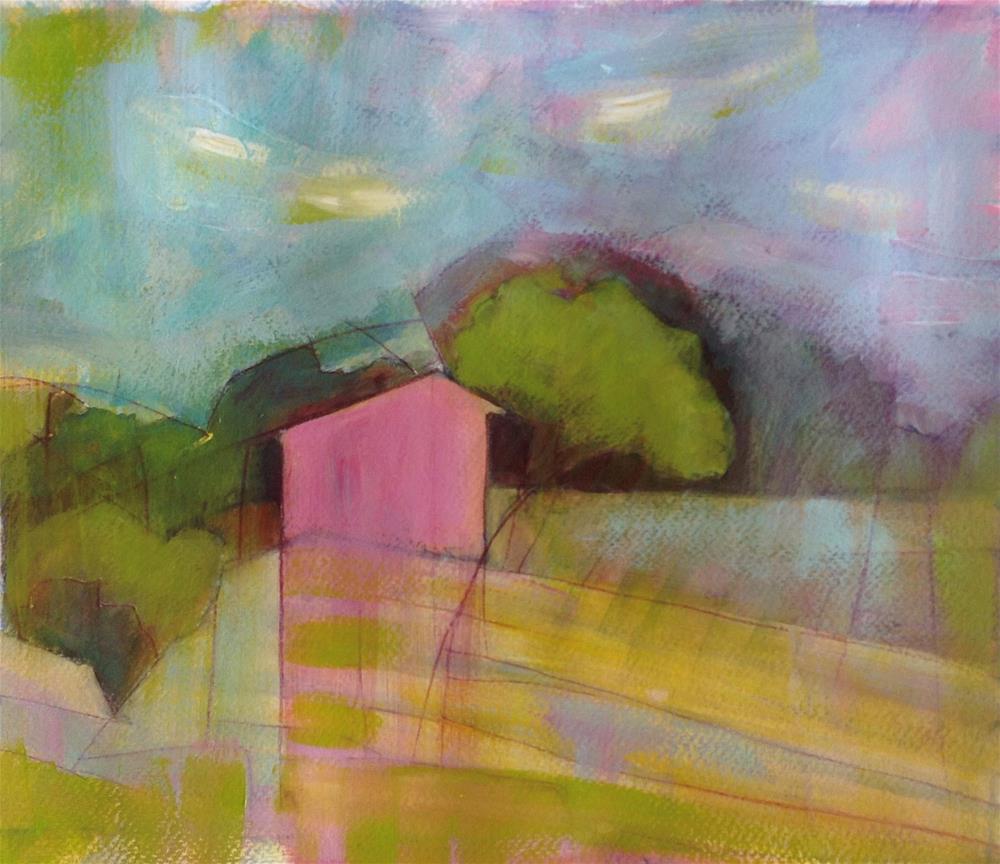 """Farm Building, Provence"" original fine art by Patricia MacDonald"
