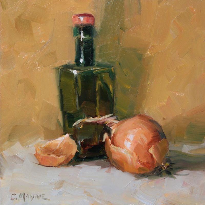"""Hot & Sour"" original fine art by Carole Mayne"