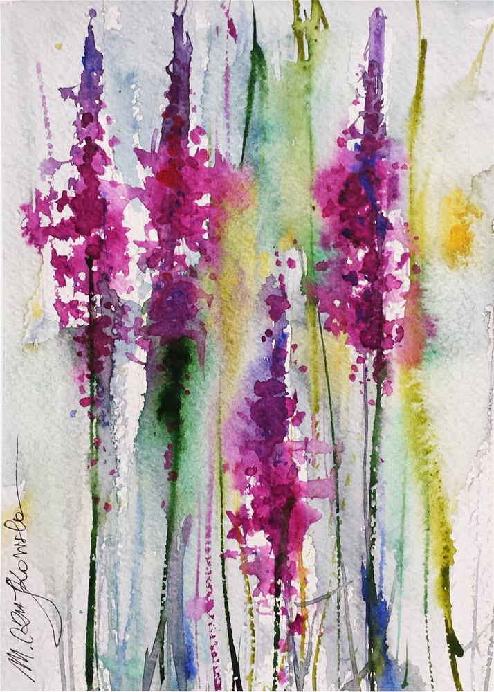 """Pins"" original fine art by Marlena Czajkowska"