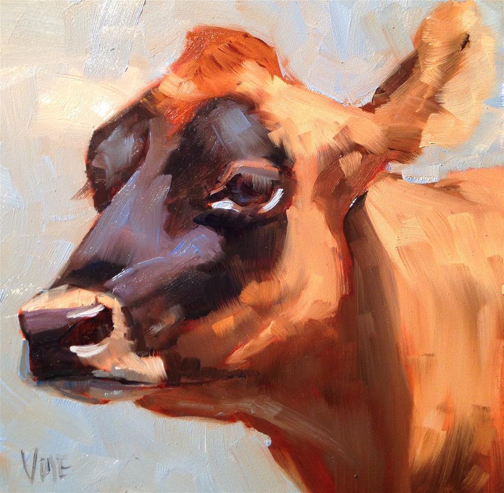 """""""#225 Jersey Girl"""" original fine art by Patty Voje"""