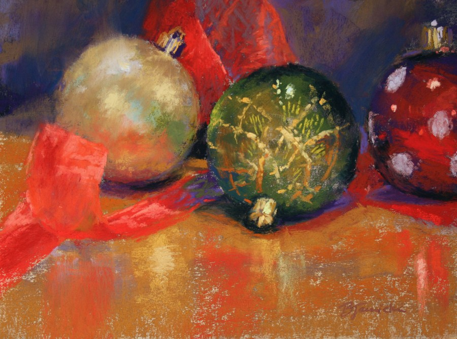 """Holiday Prep II"" original fine art by Barbara Jaenicke"