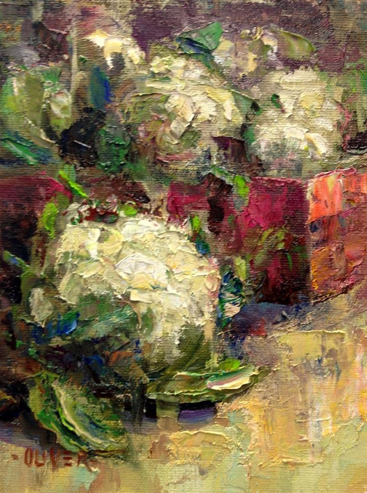 """""""Farmers Market #7"""" original fine art by Julie Ford Oliver"""