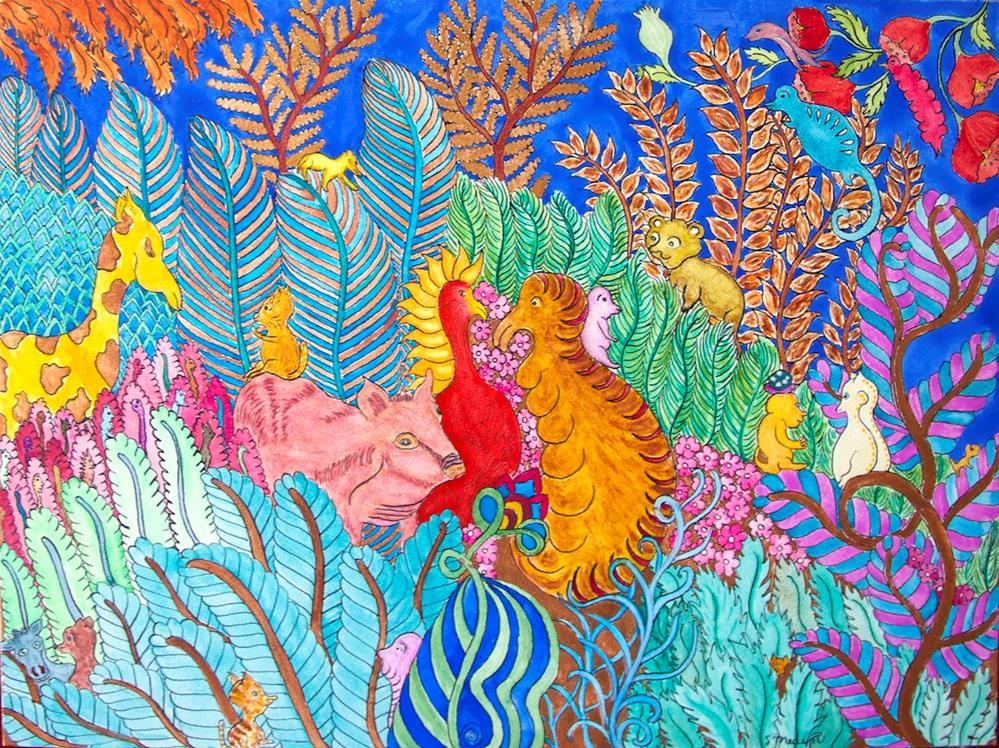 """""""Plantation"""" original fine art by Susan Medyn"""