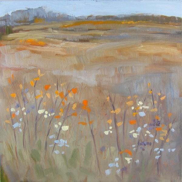 """""""Soft Prairie Days"""" original fine art by Nicki Ault"""