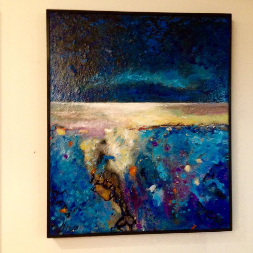 """Visions II / Nightfall "" original fine art by Kipling Collins"