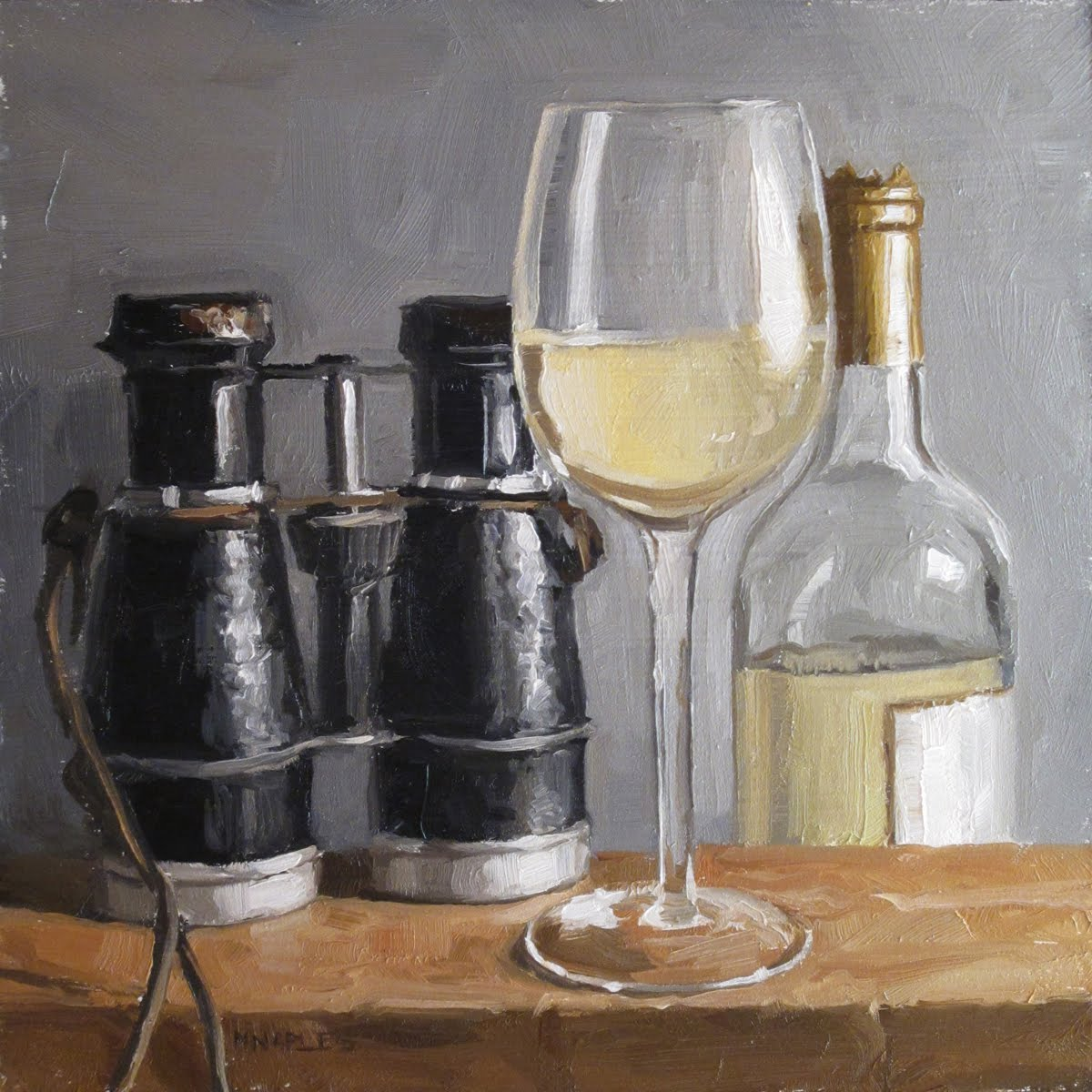 """Pinot"" original fine art by Michael Naples"