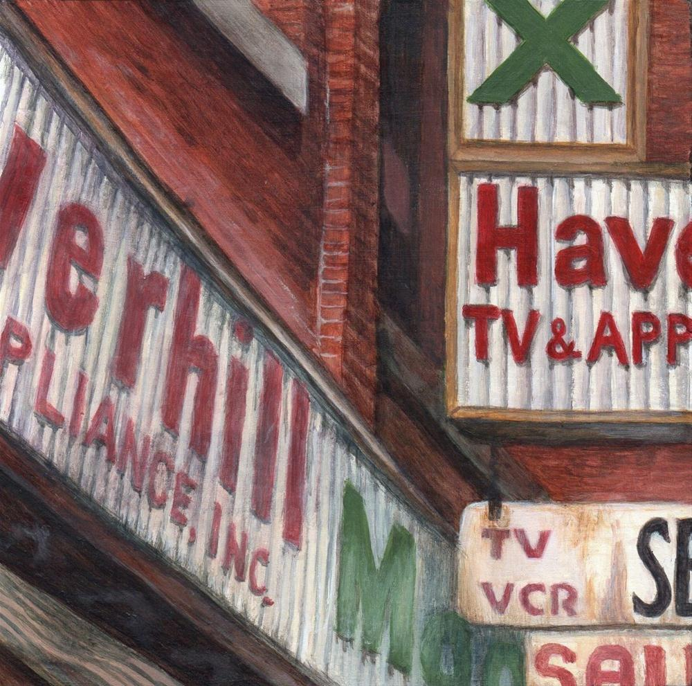 """Intersections"" original fine art by Debbie Shirley"