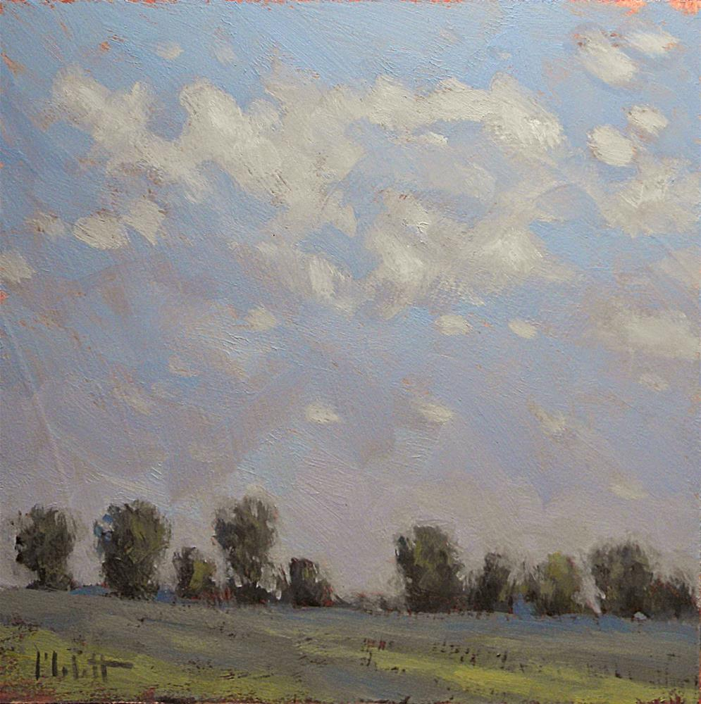 """Delicate Skies Serene Landscape Original Oil Painting"" original fine art by Heidi Malott"