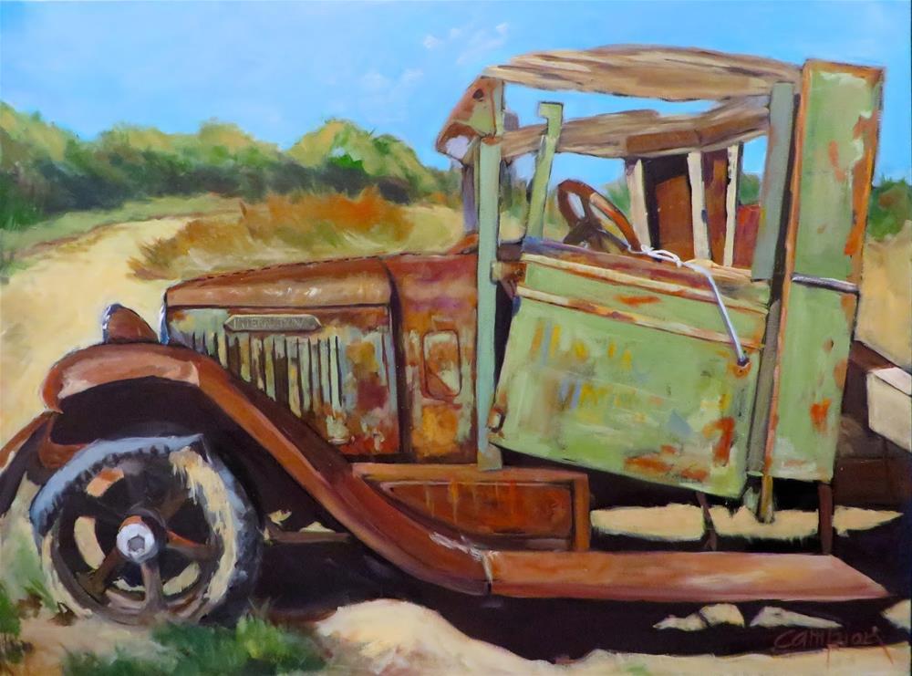 """Uninsured"" original fine art by Diane Campion"