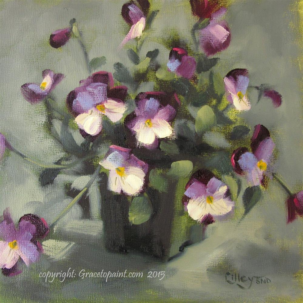"""Violas"" original fine art by Maresa Lilley"