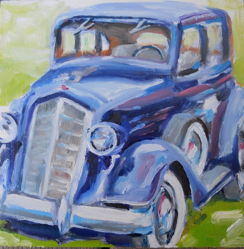 """""""Old Olds"""" original fine art by Susan Baker"""