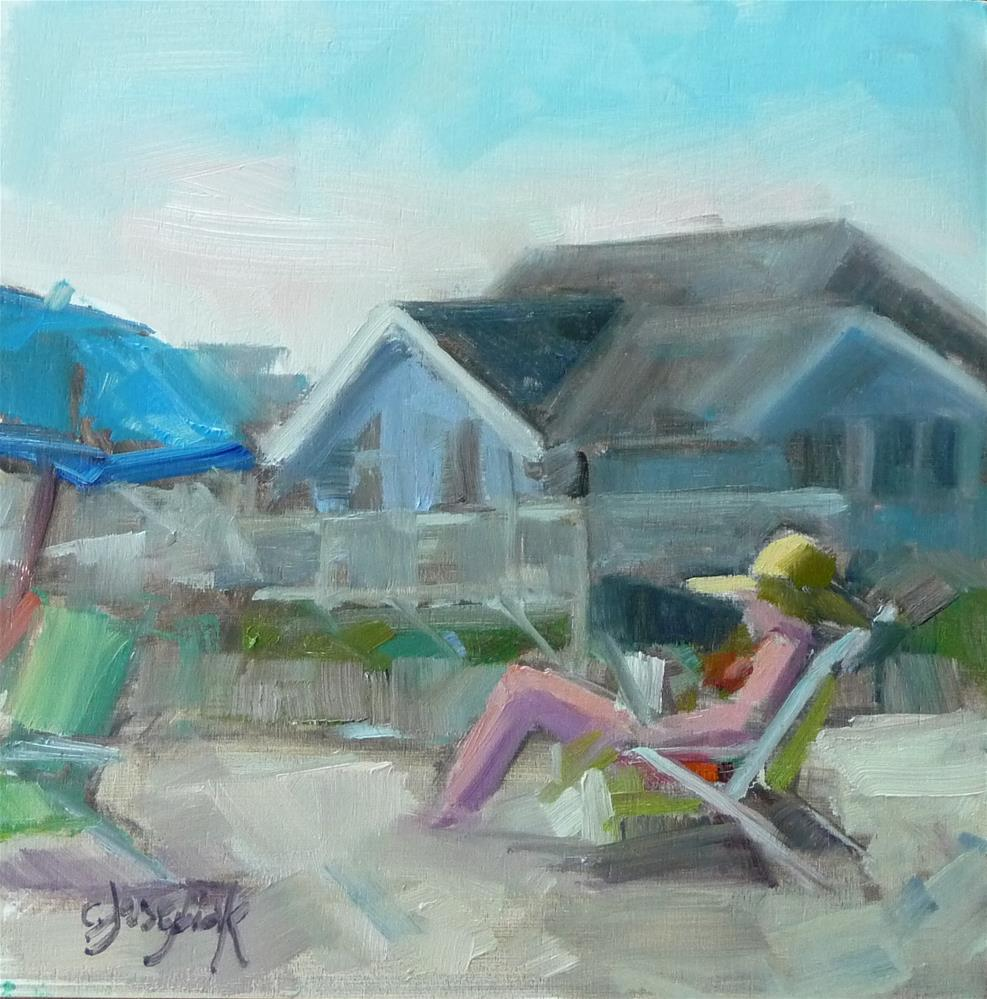 """Summertime"" original fine art by Carol Josefiak"