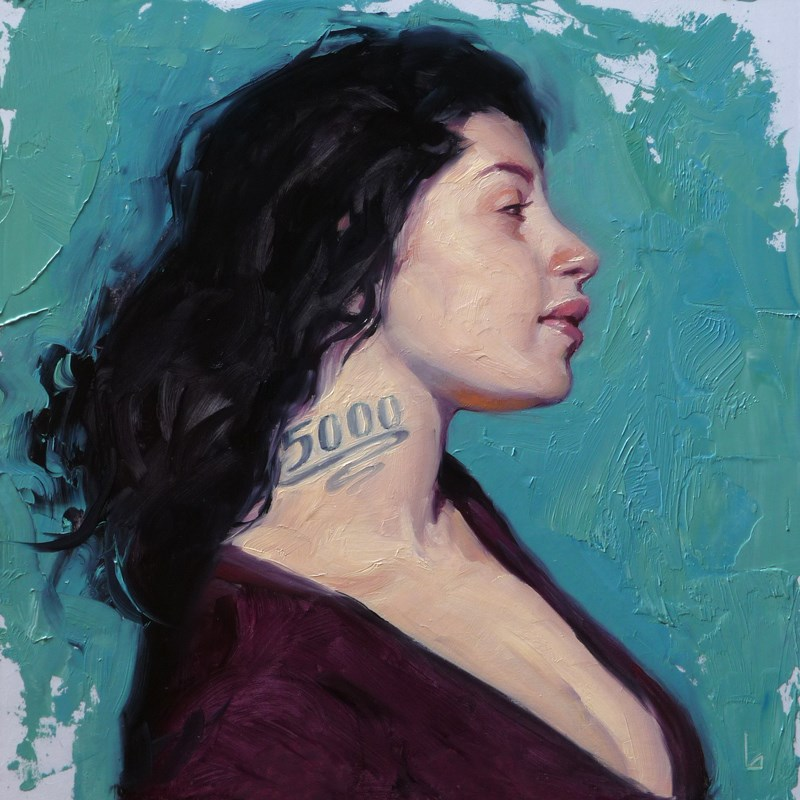 """5000"" original fine art by John Larriva"