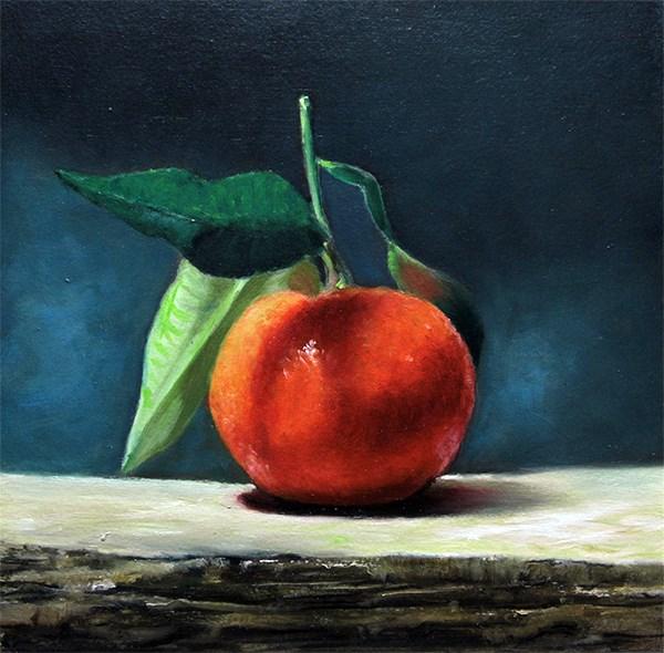 """tangerine"" original fine art by Arthur Gaida"
