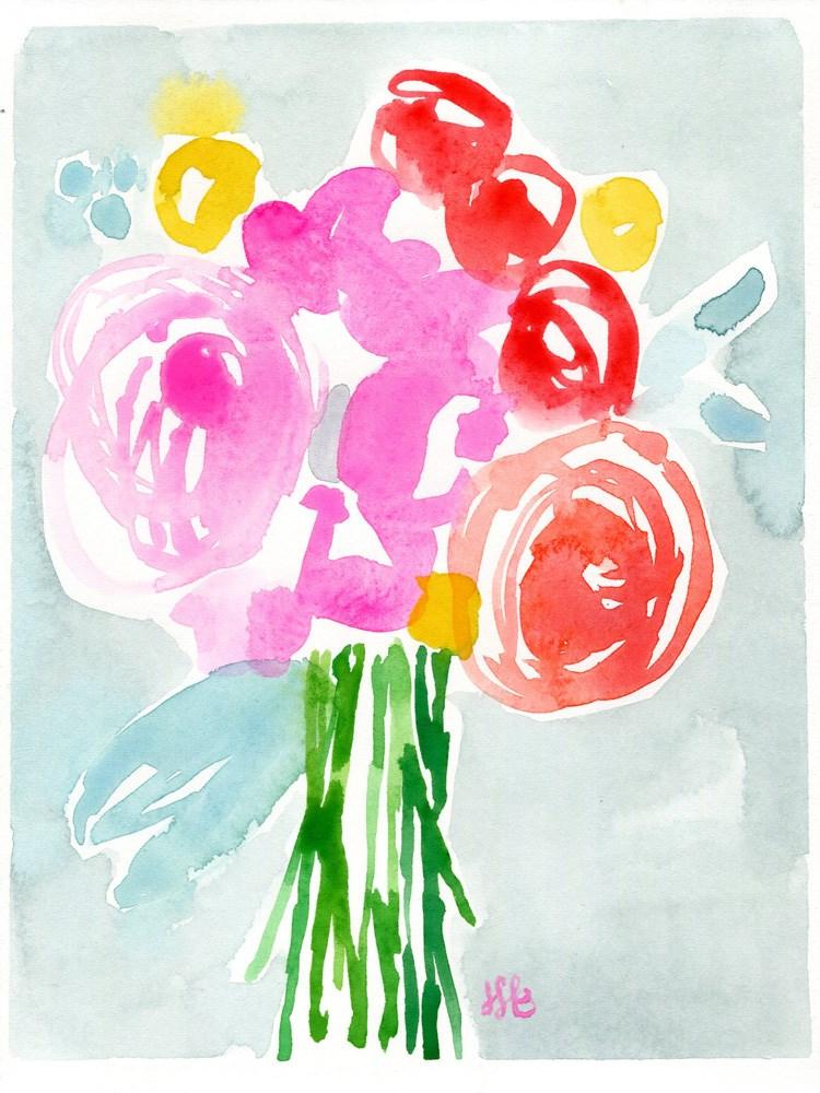 """Sometimes"" original fine art by Heather Bennett"