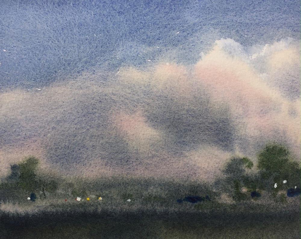"""""""Dusk"""" original fine art by Laurie Maher"""