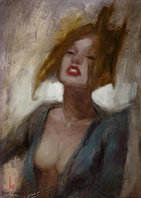"""Reeling"" original fine art by John Larriva"