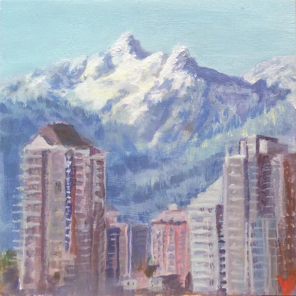 """Vancouver "" original fine art by wendy black"