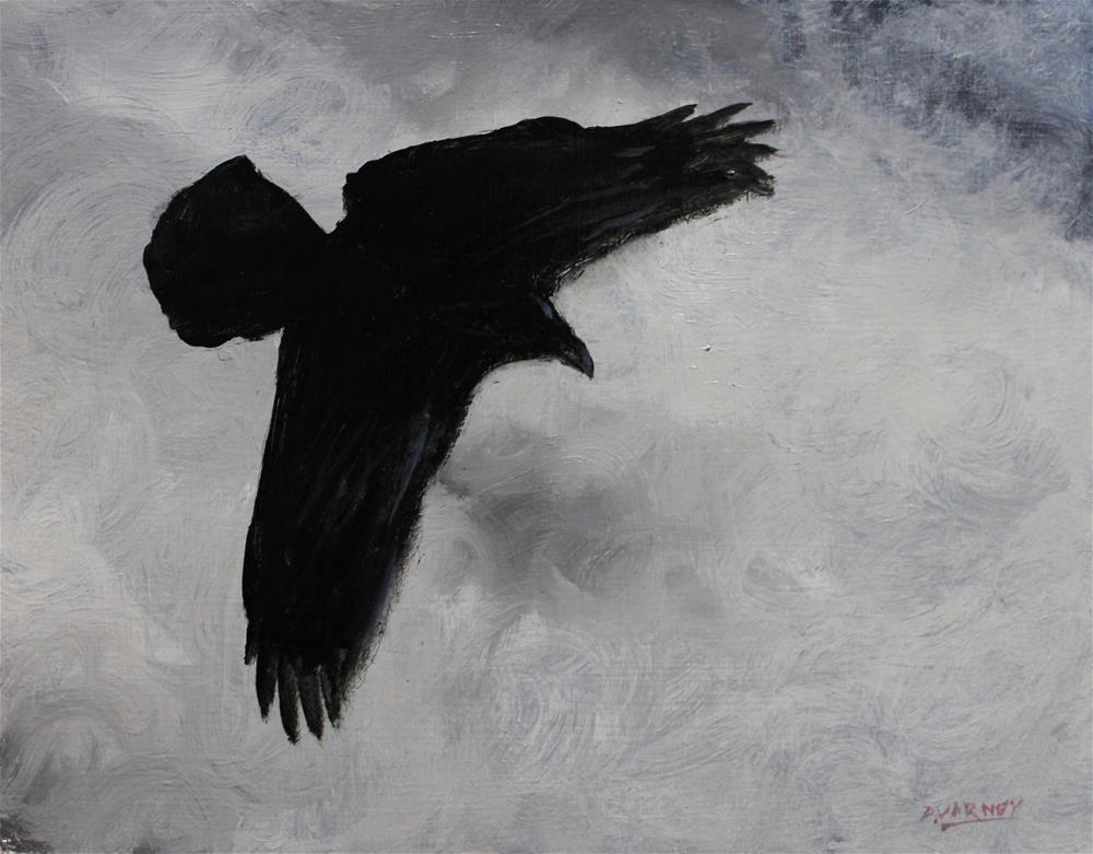 """Raven"" original fine art by Daniel Varney"