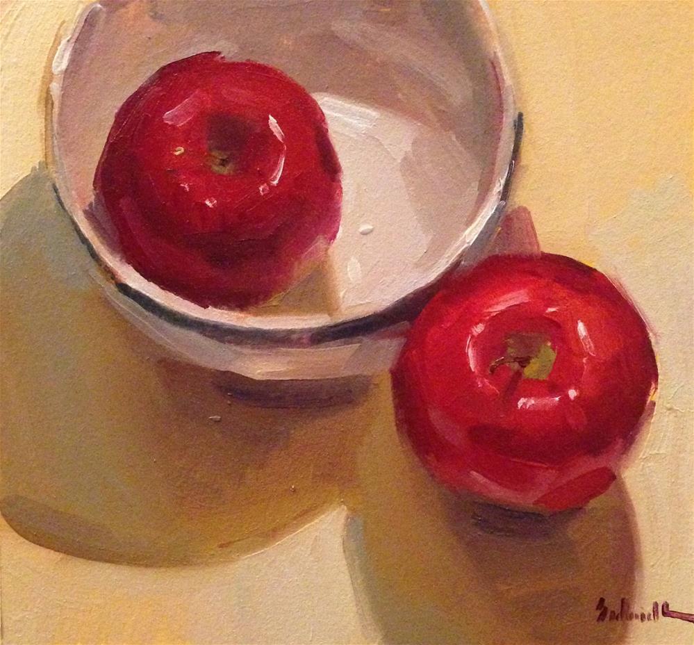 """Tempting Snow White"" original fine art by Sarah Sedwick"