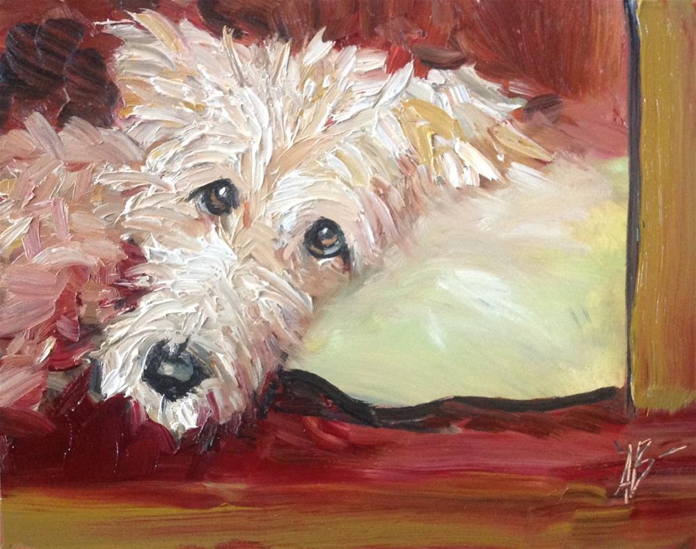 """The Look"" original fine art by Annette Balesteri"